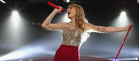 Taylor Swift en el concierto Jingle Ball 2012 de Nueva York
