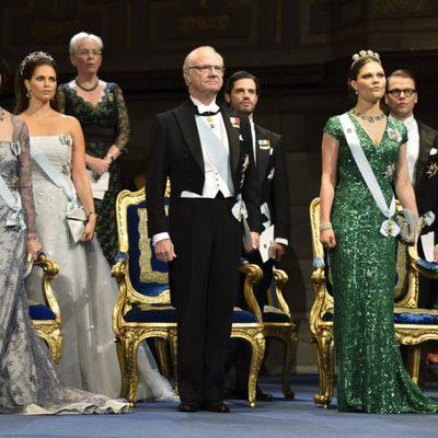 La Familia Real Sueca en la ceremonia de entrega de los Premios Nobel 2012