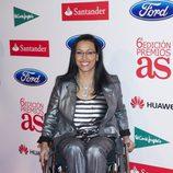 Teresa Perales en los Premios As del Deporte 2012