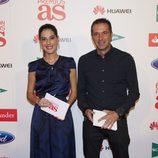 Laura Martínez y Manu Carreño en los Premios As del Deporte 2012