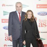 Clifford Luyk y Paquita Torres en los Premios As del Deporte 2012