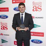 Iker Casillas en los Premios As del Deporte 2012