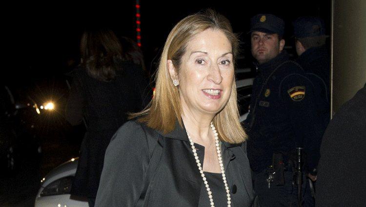 Ana Pastor en los Premios Alfonso Ussía