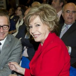 Laura Valezuela en los Premios Alfonso Ussía