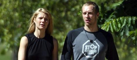 Gwyneth Paltrow y su marido Chris Martin
