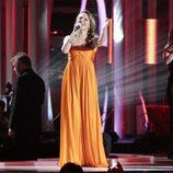 Kylie Minogue en el concierto en honor al Premio Nobel de la Paz 2012