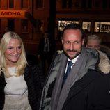 Haakon y Mette-Marit de Noruega en el concierto en honor al Premio Nobel de la Paz 2012
