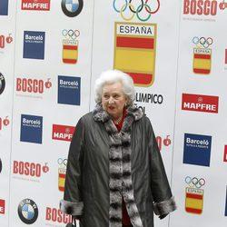 La Infanta Pilar en la gala del centenario del Comité Olímpico Español