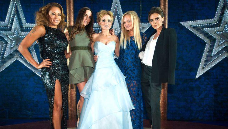 Las Spice Girls en el estreno del musical 'Viva Forever!'