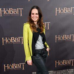 Ana Locking en el estreno de 'El Hobbit: Un viaje inesperado' en Madrid