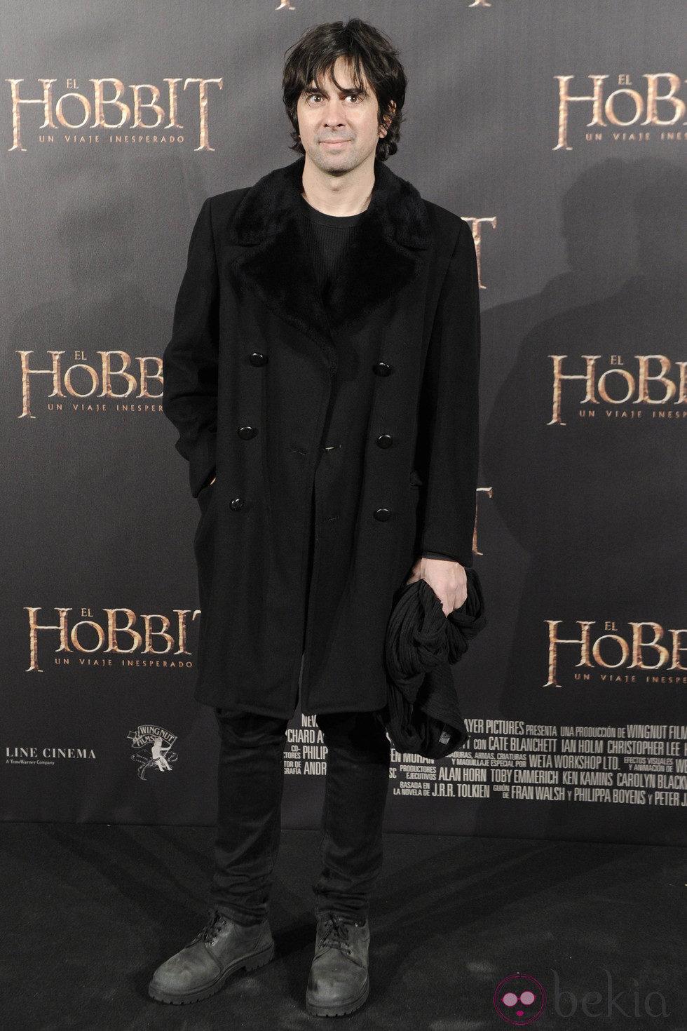 Eduardo Chapero-Jackson en el estreno de 'El Hobbit: Un viaje inesperado' en Madrid