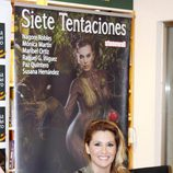 Nagore Robles en la presentación del libro 'Siete tentaciones'
