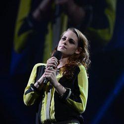 Kristen Stewart en el concierto a favor de las víctimas del huracán Sandy