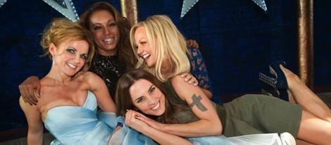 Las Spice Girls juntas en el estreno de 'Viva Forever!'