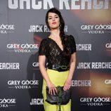 Sara Vega en el estreno de 'Jack Reacher' en Madrid