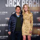 Tom Cruise y Rosamund Pike en el estreno de 'Jack Reacher' en Madrid