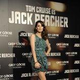 Mar Saura en el estreno de 'Jack Reacher' en Madrid