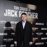 Ramón Arangüena en el estreno de 'Jack Reacher' en Madrid