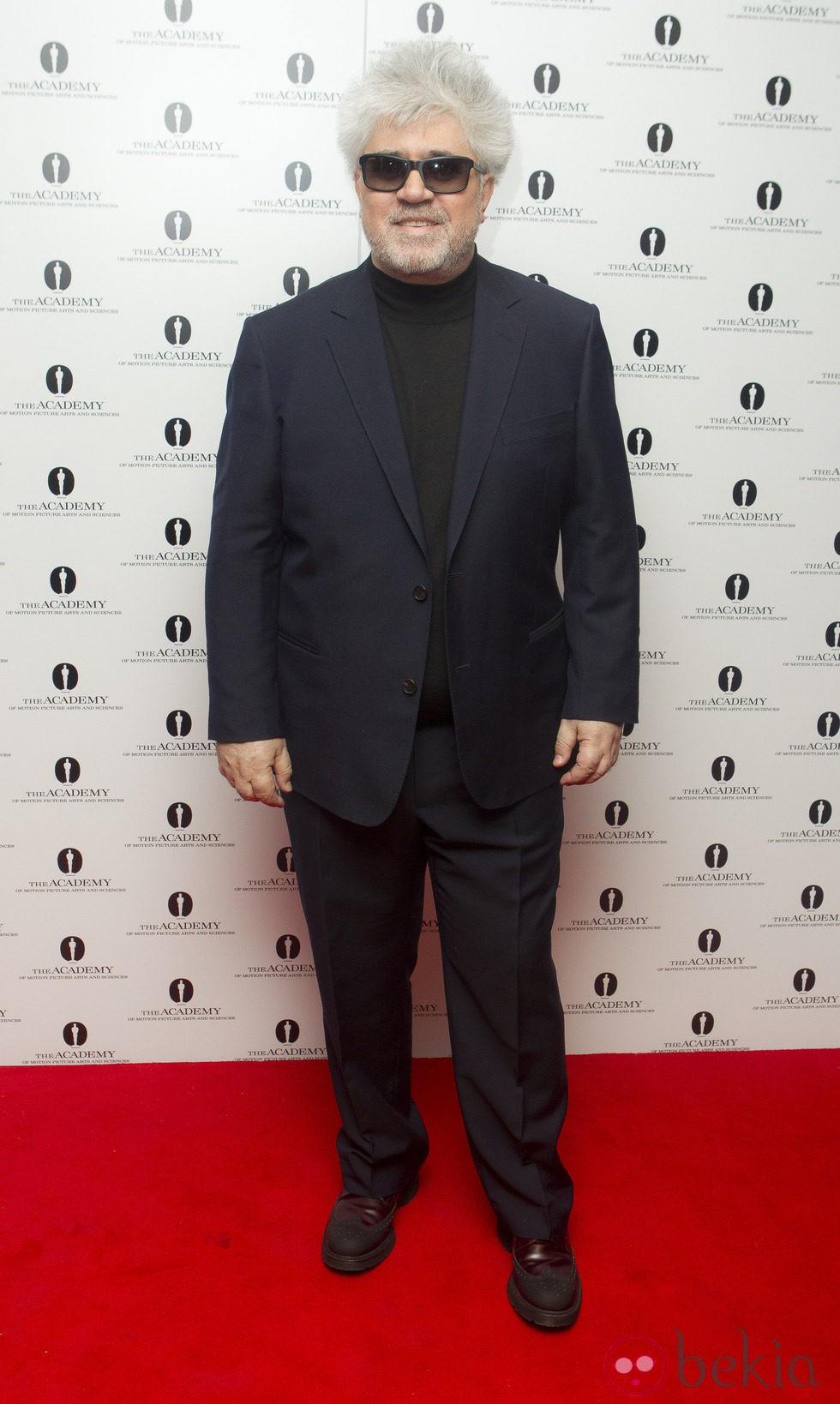 Pedro Almodóvar en el homenaje de la Academia a su carrera en Londres