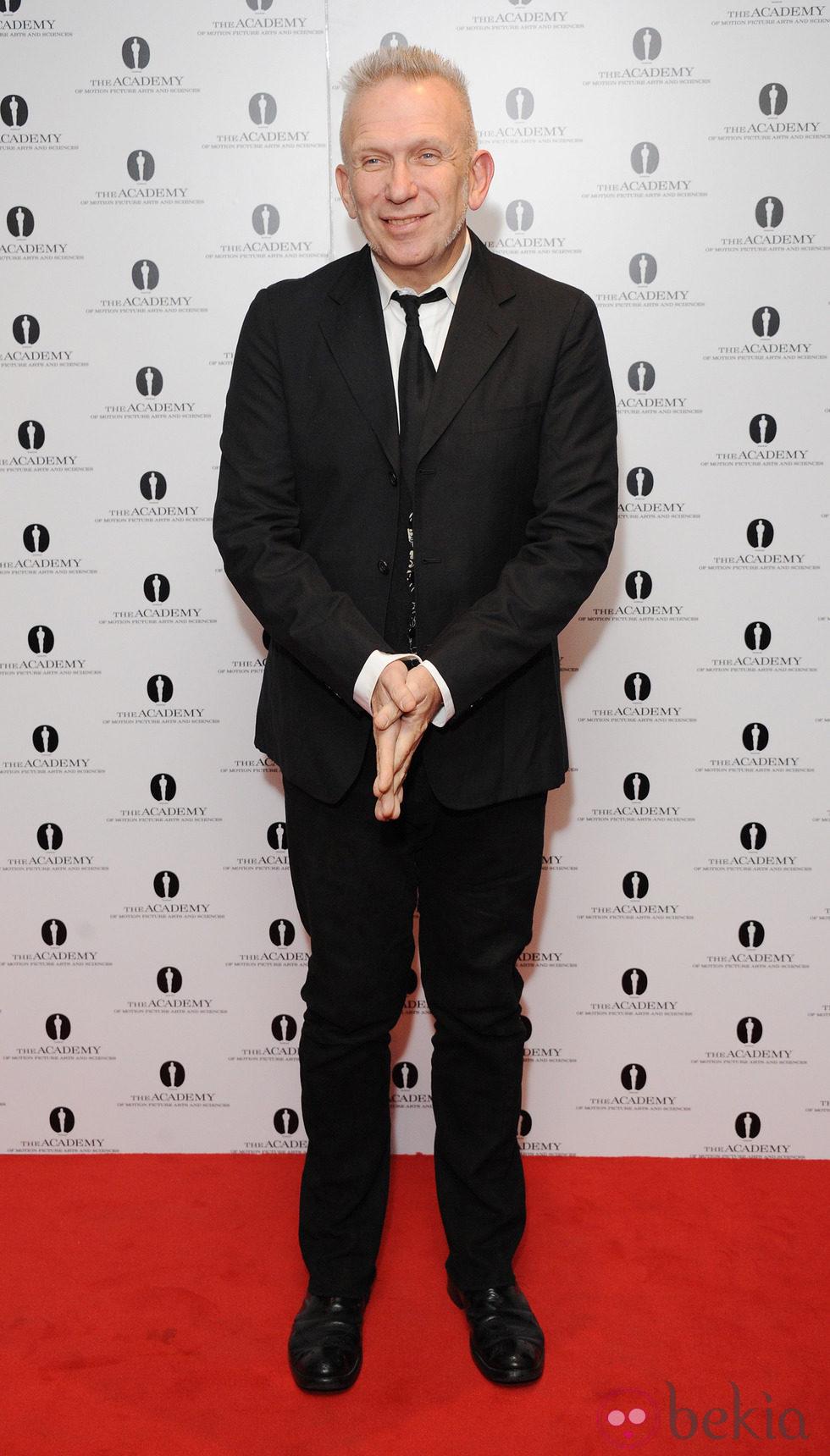 Jean Paul Gaultier en el homenaje a Pedro Almodóvar en Londres