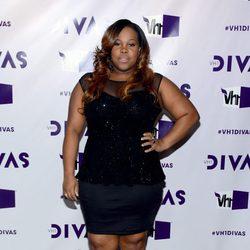 Amber Riley en la gala VH1 Divas 2012