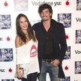 Mireia Canalda y Felipe López en la presentación del disco 'Lágrimas desordenadas'