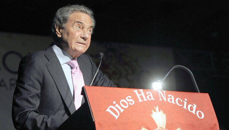Arturo Fernández da el pregón navideño en Marbella