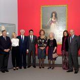 La Reina Sofía, autoridades políticos y los Alba en la exposición 'El Legado Casa de Alba'