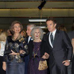 La Reina Sofía y los Duques de Alba en la exposición 'El Legado Casa de Alba'