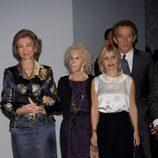 La Reina Sofía, los Duques de Alba y Eugenia Martínez de Irujo en la exposición 'El Legado Casa de Alba'
