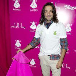 Rafael Amargo en la inauguración de una tienda