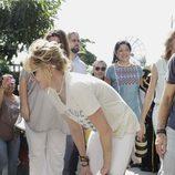 Antonio Banderas y Melanie Griffith de viaje con la Fundación Starlite Gala