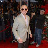 Pitbull en la gala final de 'The X Factor'