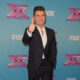 Simon Cowell en la gala final de 'The X Factor'