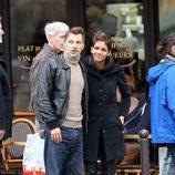 Halle Berry y Olivier Martinez de vacaciones navideñas por París