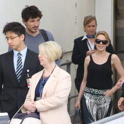 Andrés Velencoso y Kylie Minogue llegan a Sidney