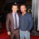 Josh Brolin y Sean Penn en el estreno de 'Gangster Squad' en Los Angeles