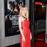 Emma Stone en el estreno de 'Gangster Squad' en Los Angeles