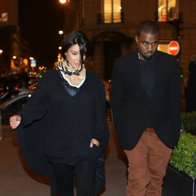 Kim Kardashian y Kanye West pasean por París tras anunciar que serán padres