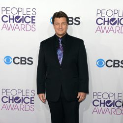 Nathan Fillion en los People's Choice Awards 2013