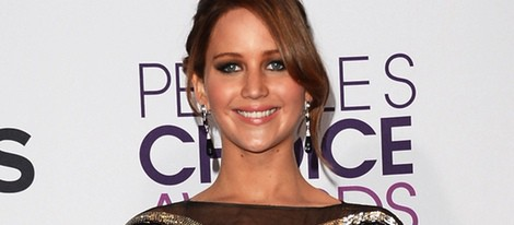 Jennifer Lawrence en los People's Choice Awards 2013