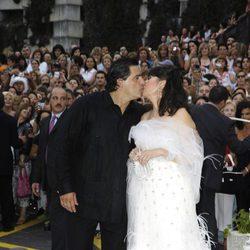 Carmen Martínez-Bordiú se casó con José Campos con un vestido de Manuel Mota