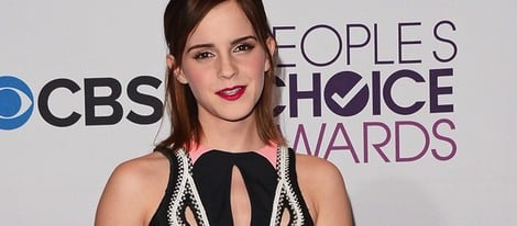 Emma Watson en los People's Choice Awards 2013