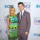 Paris Hilton y River Viiperi en los People's Choice Awards 2013