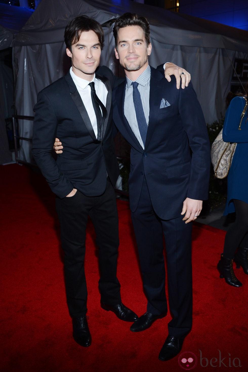Ian Somerhalder y Matt Bomer en los People's Choice Awards 2013