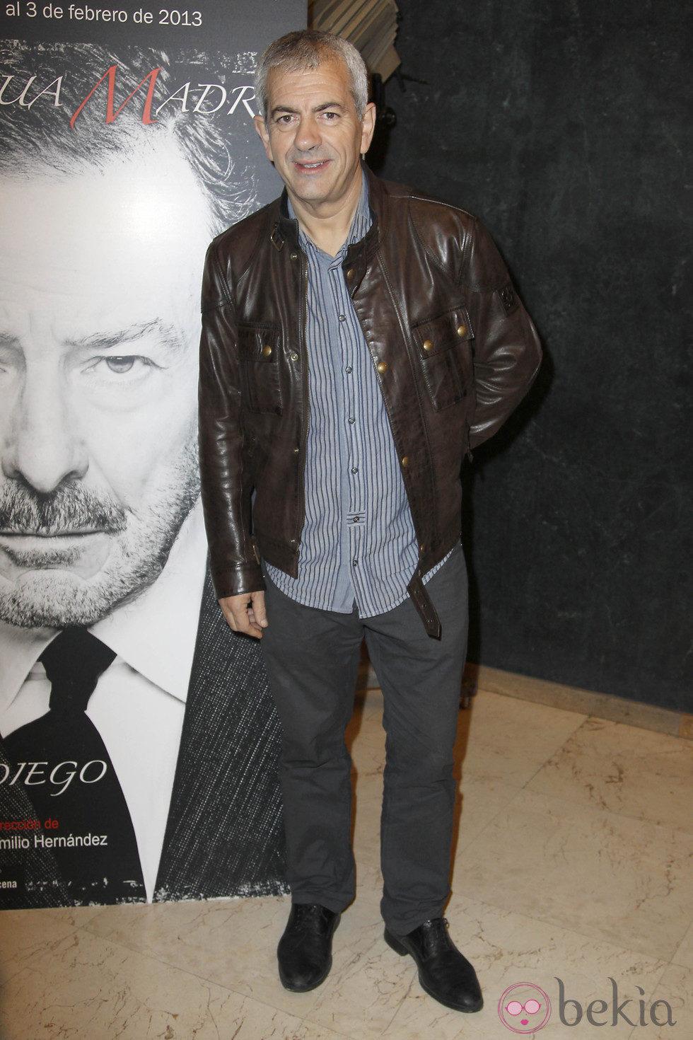 Carlos Sobera en el estreno de 'La lengua madre'