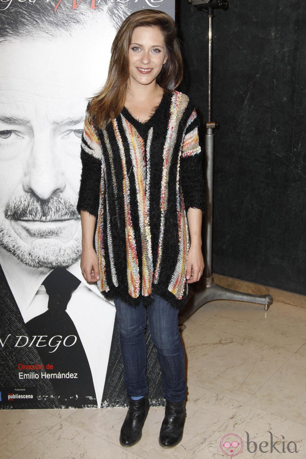 María León en el estreno de 'La lengua madre'