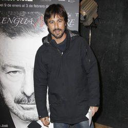 Hugo Silva en el estreno de 'La lengua madre'