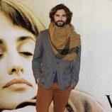 Iván Sánchez en el estreno de 'Volver a nacer' en Madrid