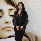 Giselle Calderón en estreno de 'Volver a nacer' en Madrid